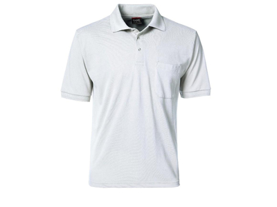 Poloshirt hvid Large