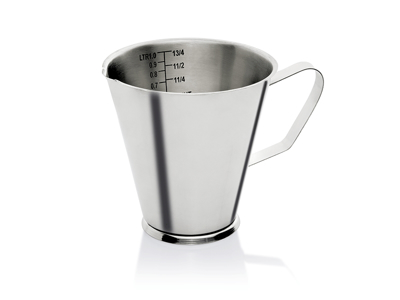 Litermål rustfri 1 liter