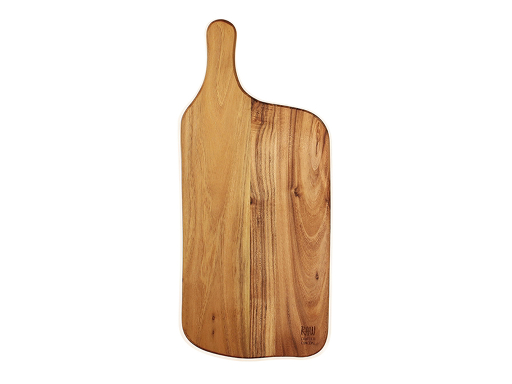 RAW Træskærebræt 43x19x1,5 cm