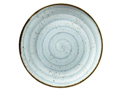 Tallerken flad Ø 21 cm Corendon blå