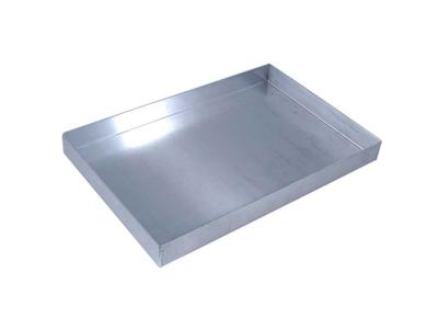 Kantplade 45x30x4 cm Aluminium