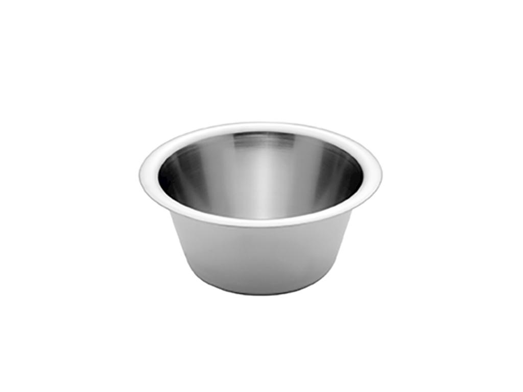 Konisk rustfri skål 2 ltr. Ø 22 cm