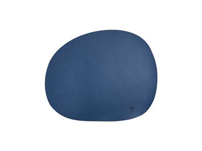 RAW Dækkeserviet silikone 41x35,5 cm blå