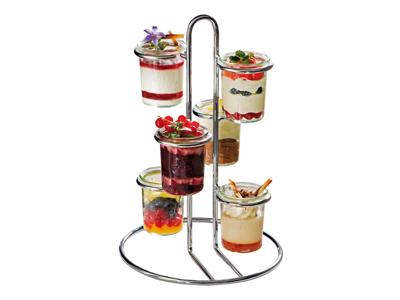 Serverings-stativ til 6 glas H 33