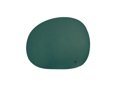 RAW Dækkeserviet silikone 41x35,5 cm grø