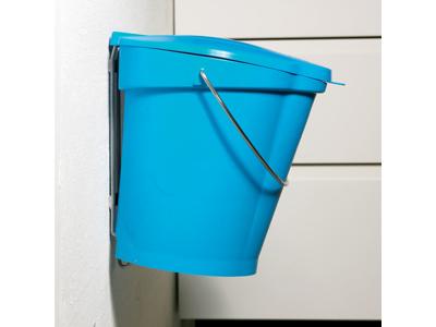 Låg til Spand Blå plast Vikan 12 ltr.