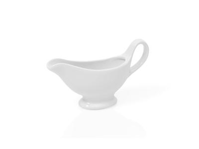 Saucekande 0,30 i porcelæn hvid
