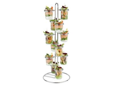 Serverings-stativ til 12 glas H 59