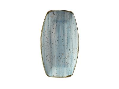 Tallerken rekt 16x9,6 cm Corendon blå