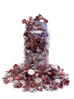 Tillykke - karameller i 700g dåse