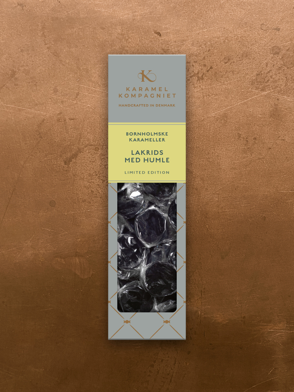 Lakrids med humle - Limited edition, 138g