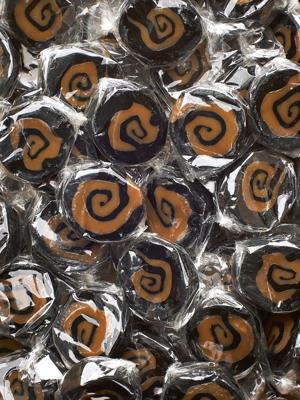 Twist Lakrids og Fløde med sydesalt - karameller i 1kg løsvægt
