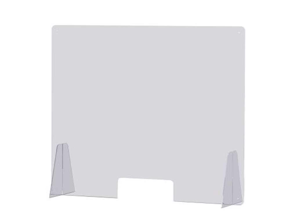 Beskyttelsesskærm til Disk-bord B. 60 cm. x  H.65 cm.