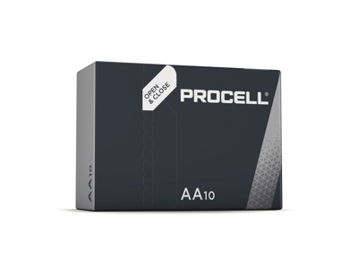 Batterier AA Procell made by  Duracell 10 stk./ pk.