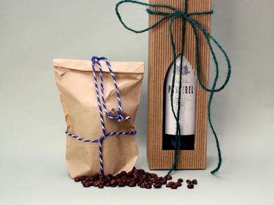 Vin- og delikatesse emballage