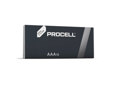 Batterier AAA Procell made by  Duracell 10 stk. / pk.