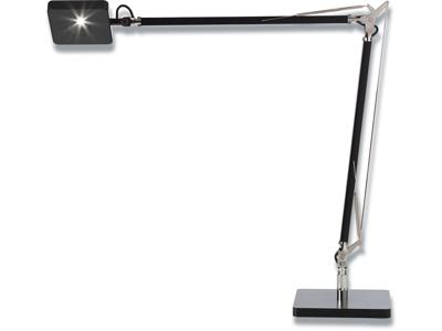 Bordlampe, Sort, Med fod, 8W LED, Matting Light Up Madrid