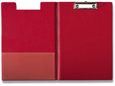 Clipboard, Rød, Med forside, A4, Esselte