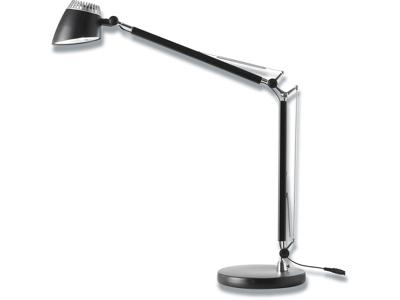Bordlampe, Sort, Med fod, 6W LED, Matting Light Up Valencia
