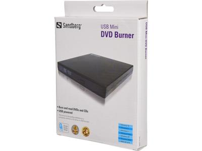 Sandberg USB Mini DVD brænder