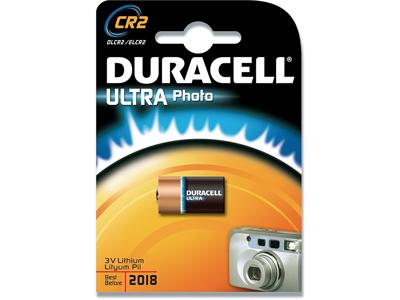 Batteri, Ikke genopladelig, 3 V, 800 mAh, Duracell Ultra Photo CR2