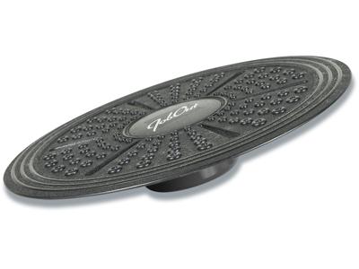 Balanceplade, Sort, Ø 41 cm, PP, JobOut