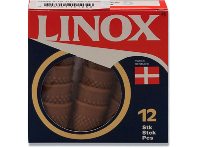 Bladvender, Ø 13 mm, Brun, 12 stk, Linox Nr. 1