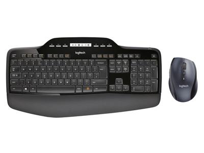 Logitech MK710 Wireless Desktop Set, Black (Nordic)