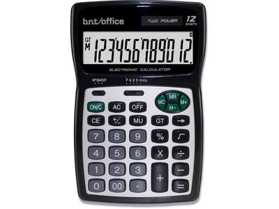 Regnemaskine, Standard, 12 cifre, Sort, BNT Office 80 CD-2520