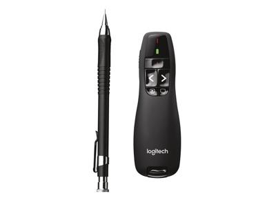 Logitech Logitech laser fjernbetjening R400 sort