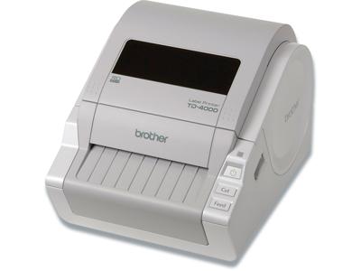 Labelprinter, Skrivebord, Til PC, Max 105 mm etiketbredde, Brother Professionel TD-4000