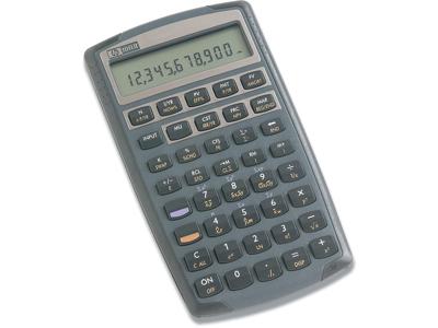 Regnemaskine, Finans, 12 cifre, Sort, HP 10BII