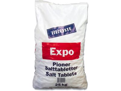 Salttabletter t/opvaskemaskine 25kg/pak