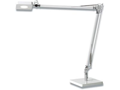 Bordlampe, Hvid, Med fod, 8W LED, Matting Light Up Madrid