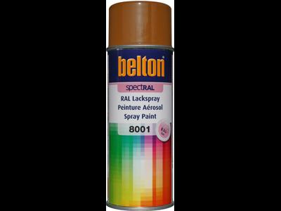 Belton spray 324 Okkerbrun RAL8001