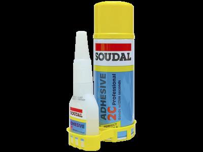 Adhesive 2C 2-komponent lim, 50+200ml