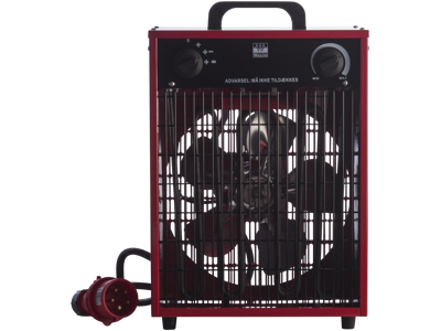 Varmeblæser 9kW 400V CEE stikprop IP44