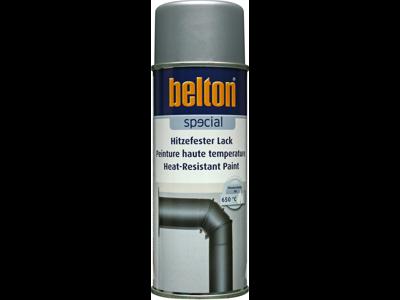 Belton spray 323 Varmefast sølv 650 gr