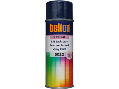 Belton spray 324 Natblå RAL5022