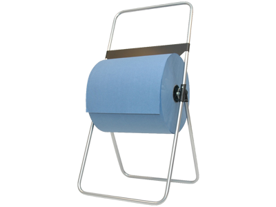 Gulvstativ t/aftørringspapir i ruller maks. 40cm