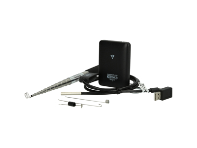 Wi-Fi-videoskopsæt med Ø 5,5 mm 0° HD frontkamerasonde, 7 dele