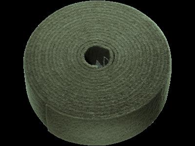 Tyrolit Vlies i rulle 100 mm×10 mtr A ultra-fin grøn