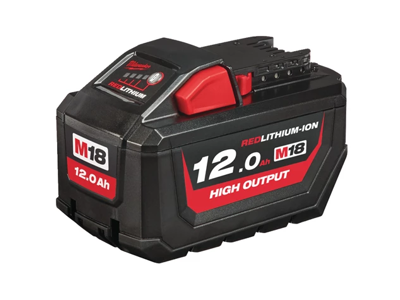 Milwaukee Batteri 18V/12Ah High Output Li-ion M18 HB12