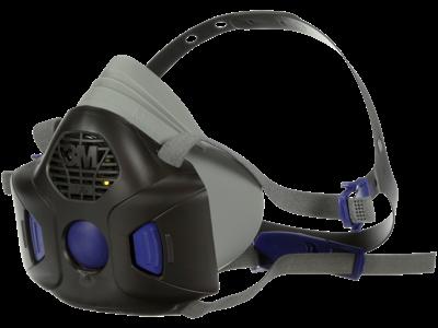 3M SecureClick halvmaske m/talemembran Med. F-802SD