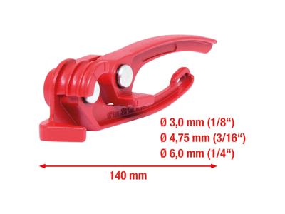 Mini bøjeværktøj til bremseledninger 3-6mm