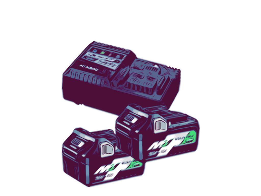 Hikoki batterier & lader
