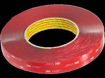 3M VHB 4910F dobbeltklæbende skumtape 19mm × 11m klar