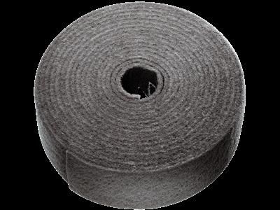 Tyrolit Vlies i rulle 100 mm×10 mtr S ultra-fin grå