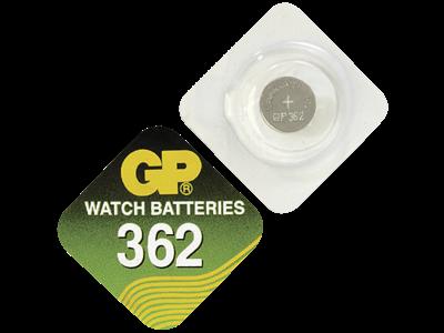 GP Sølvoxid-batteri 362 A1 SR721SW