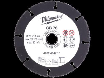 Milwaukee Grit skæreskive 76 mm t/M12-FCOT multiskærer